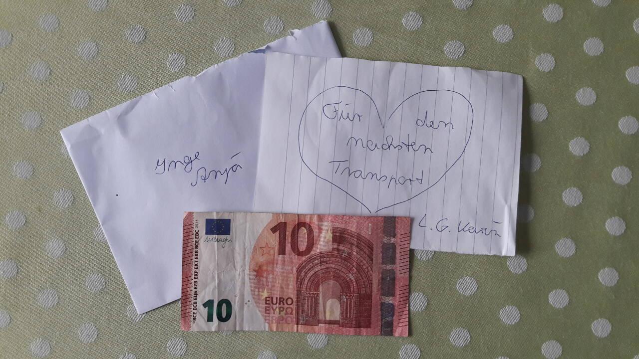 Spende von Karin