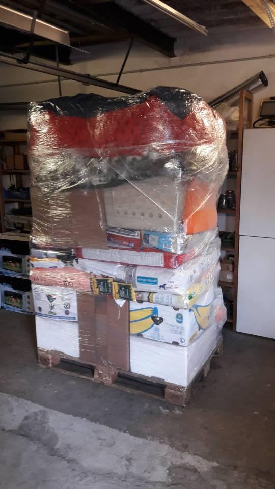 verpackte Spenden