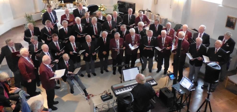 Chorkonzert in der Heider St. Jürgen-Kirche am 18.10.15
