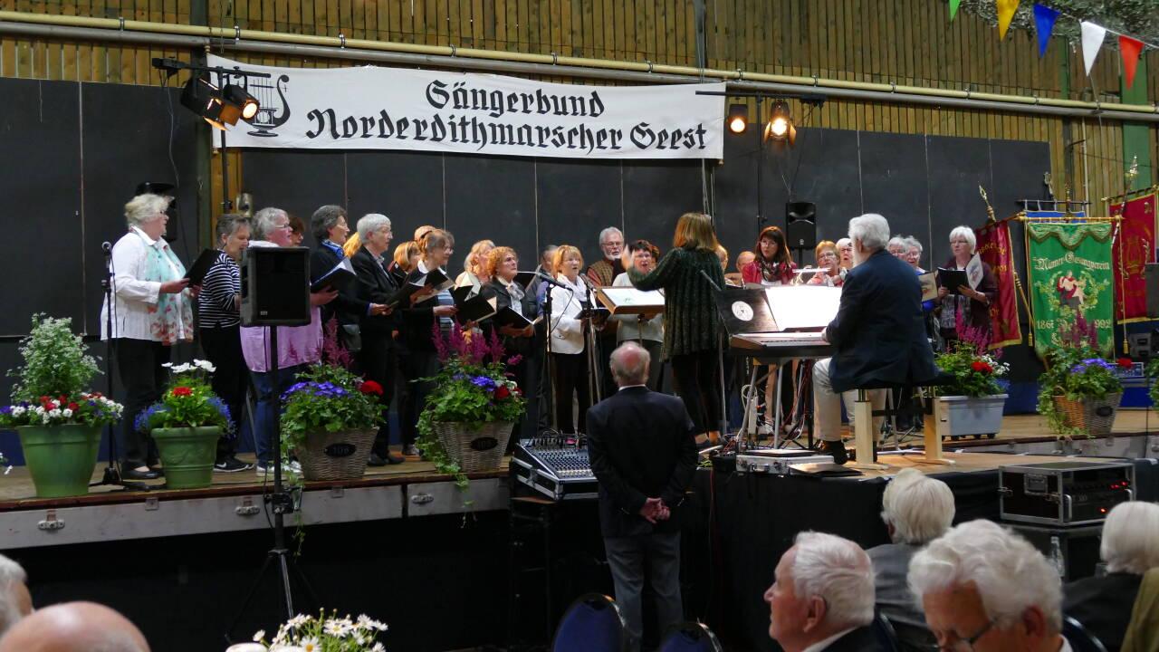 Projektchor vom Schleswig-Holsteinischen Sängerbund SSH
