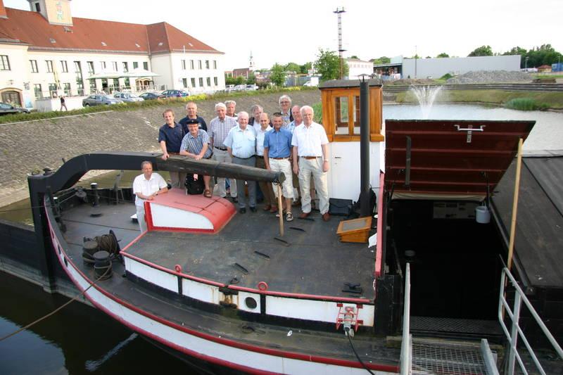 Treffen der FG im Alberthafen Dresden vom 24.05.2012